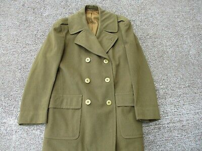 Original US Army WWII Officer's Short Overcoat Size 40R