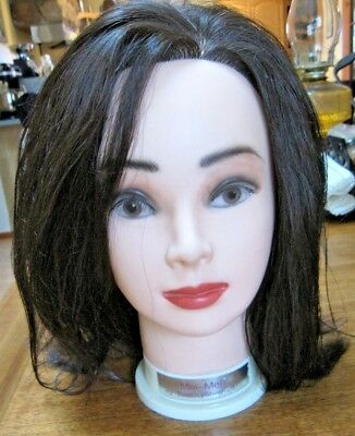 MEI MEI Beauty Shop Pal by Charlene - Real Hair Mannequin Head VGC