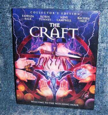 New Scream Factory The Craft Collector's Edition Blu Ray Movie 1996 & Slipcover