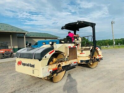 Ingersoll Rand Dd90Hf High Frequency Smooth Ride On Vibratory Compactor Roller