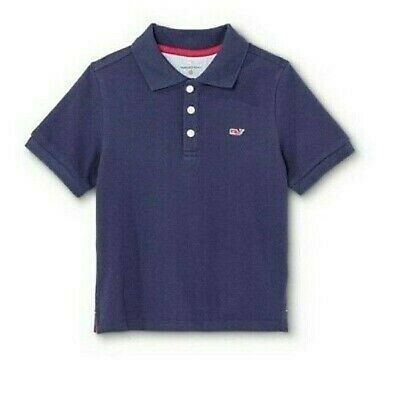 Vineyard Vines x Target Toddler Baby Boy Cotton Short Sleeve Polo Shirt Navy NWT