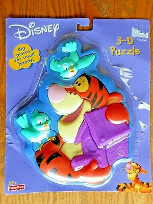 WINNIE THE POOH Ravensburger puzzle cube blocks 12 pieces