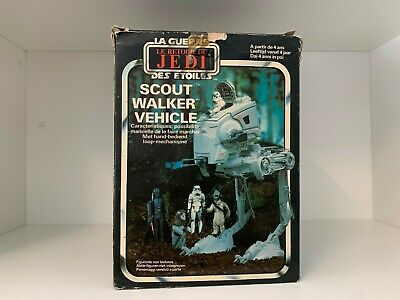 Vintage Palitoy Star Wars Return Of The Jedi Scout Walker Vehicle Boxed france