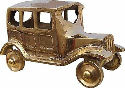 Toys Best Gifts Antique Brass Made Vintage Style Car Model in Pair for Gift and