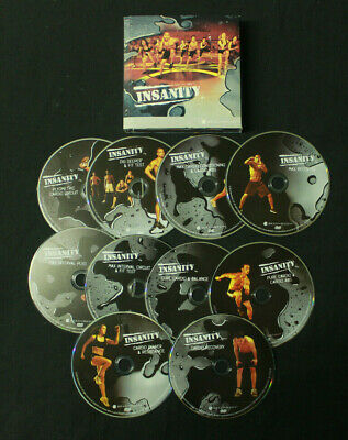 BEACHBODY INSANITY PLYOMETRIC Cardio Circuit DVD Shawn T workout