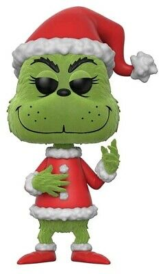Dr Seuss - Santa Grinch Flocked US Exclusive Pop! Vinyl [RS]