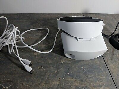 Dell Visor VR118 Headset with Controllers Mixed Reality VR - White