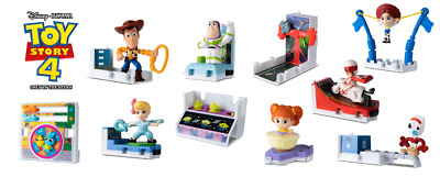 Mcdonalds 2019 Toy Story 4 Toys- Pick 3 Toys Total From List Of #5, #6, #8 Or 10