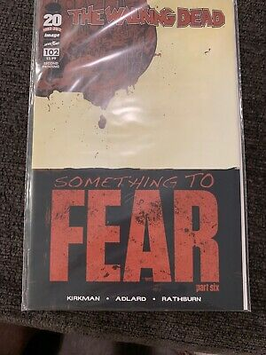 The Walking Dead 102 Second Print Image Comics NM