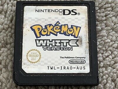 Pokemon White Version (DS, 2011) game only