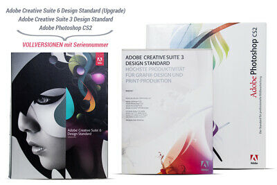 Adobe Creative Suite 6 Design Standard für WINDOWS / DEUTSCH