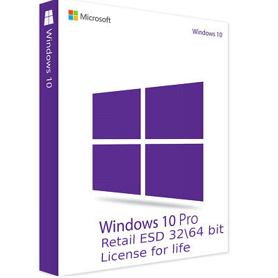 Windows 10 Pro 32/64 Bit Key Retail