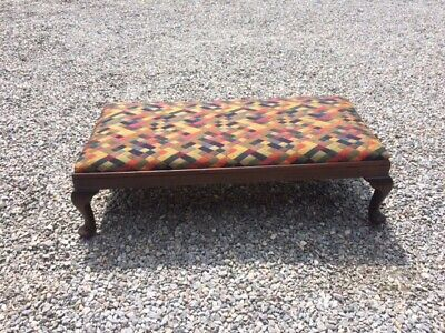 1930's Vintage Foot Stool / Centre Stool