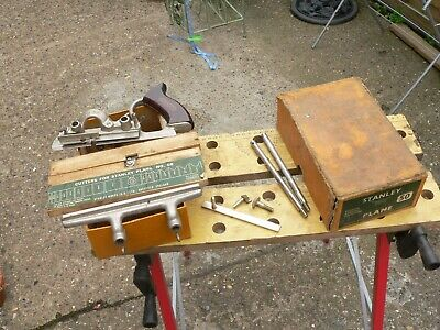 Vintage Boxed Stanley  No 50 Combination Plane & Cutters