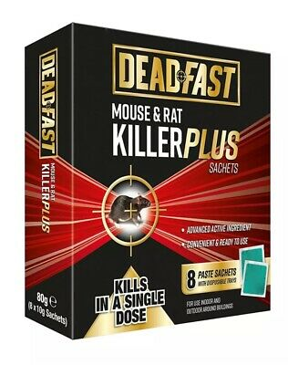 RAT OR MOUSE Poison Killer Block/Pasta Bait Bait Box Kit - Kills