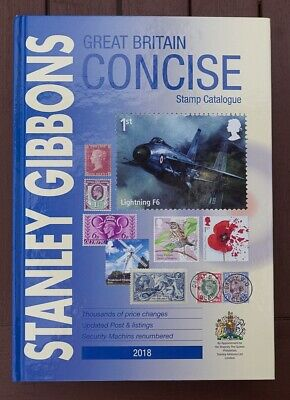 Great Britain Stamp Catalogue 2018 – Stanley Gibbons GB Concise