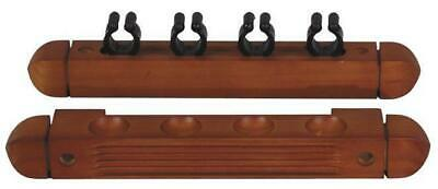 Wall Bracket for Billiards Cues Mahogany Queue Stand 4