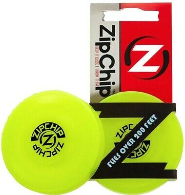 Authentic Zip Chip Mini Frisbee Disc Flying Flexible Pocket Spin Catching Game