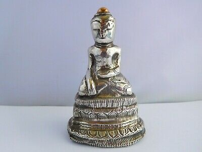 Very Old Silver And Gold ?? Buddha Statue