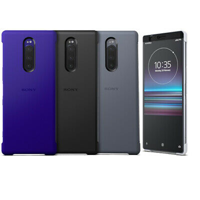 NEW Genuine SONY SCTI30 Style Cover Touch Case for Xperia 1 One X1 J9110 6.5""