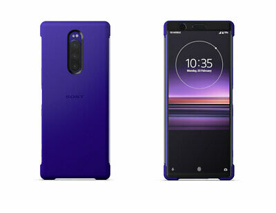 "NEW SONY SCTI30 Style Cover Touch Case for Xperia 1 One X1 J9110 6.5"" - Purple"