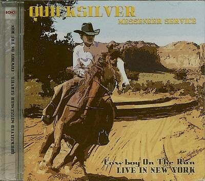 QUICKSILVER MESSENGER SERVICE - Cowboy On The Run - Live In New York 1976 (CD...