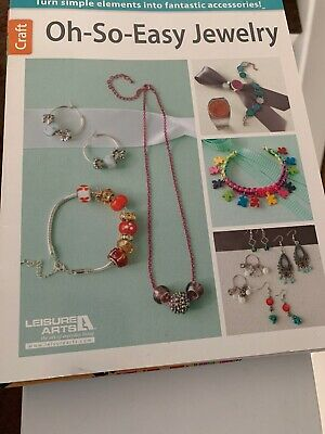 Leisure Arts Oh-So-Easy Jewelry Patterns