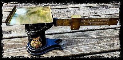 Antique Scale And Supply Co. Iron & Brass Postal Scale c. 1890