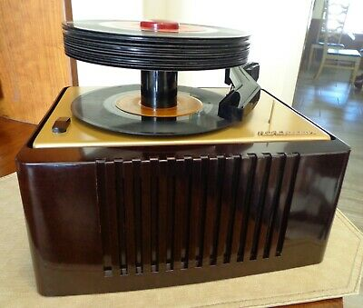 Rca Victor 45-Ey-2 Very Nice Totally! Restored Vintage  45 Rpm  Record Player