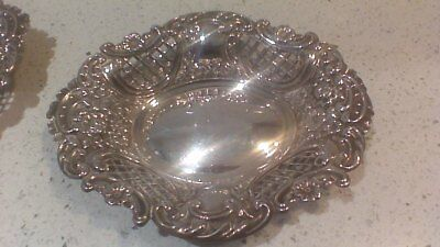 solid silver small dish tray
