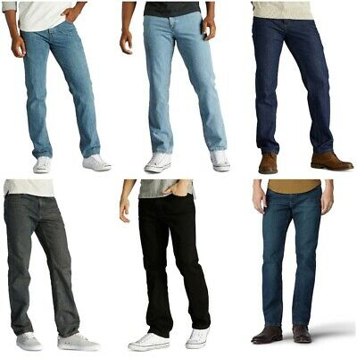 Mens Urban Pipeline Regular Fit Straight Leg Jeans 100% Cotton Jeans 5 colors