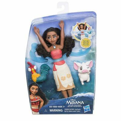 NEW Disney Moana Spin & Swim Water Play Doll from Purple Turtle Toys