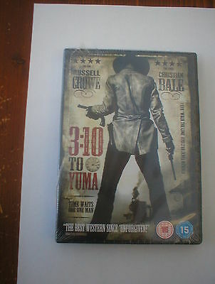 3:10 To Yuma - Russell Crowe & Christian Bale - Brand New Still Sealed