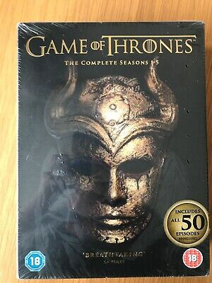 Game Of Thrones - Complete Season 1-5 (New/Sealed DVD) Peter Dinklage
