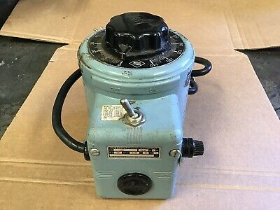 Superior Powerstat 116B Variable Autotransformer