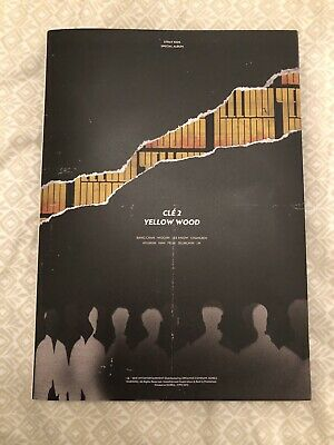 STRAY KIDS CLE 2 YELLOW WOOD (SPECIAL ALBUM) LIMITED EDITION No Photocards KPOP
