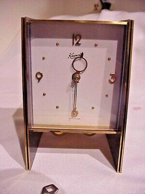 Vintage Kundo Midget 400 Day Torsion Clock 1959 Rare Model Mid Century Modern