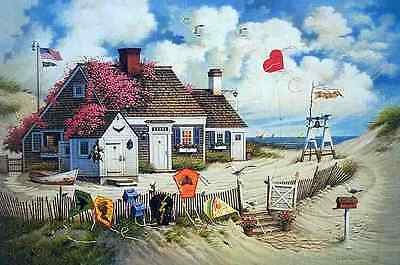 """Charles Wysocki """" Rootbeer Break At The Butterfields""""  CANVAS #45/195  w/ CERT"""