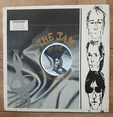 The Jam Final Record Dig The New Breed Vintage Band Cool Retro T Shirt 514