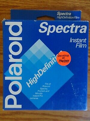 Polaroid Spectra High Definition HD Instant Film 10 Pictures NIB NOS Exp 6/98