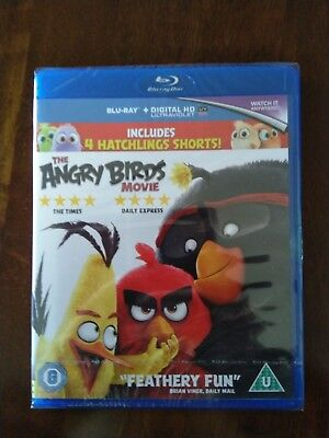 The Angry Birds Movie [Blu-Ray 2016], New & Sealed