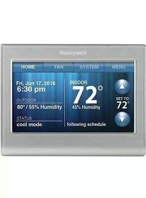 Honeywell RTH9580WF1005 Wi-fi Smart Touchscreen Thermostat Silver