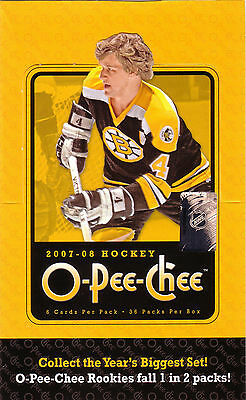 OPC 2007-08 - Choose Base,Rookies,Legends,Inserts,Retro, Send Me your Want List
