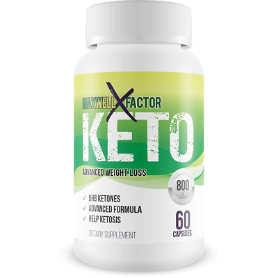 Maxwell Keto X Factor Advanced Weight Loss - Burn Fat Faster in Ketosis - 2 Pack