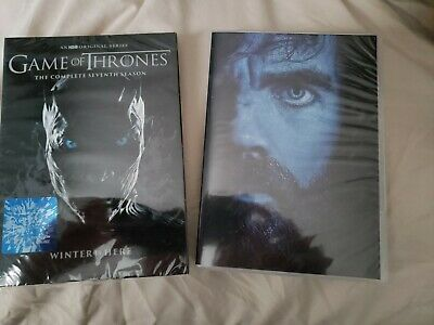 Game of Thrones: season 7 + Conquest & Rebellion Included DVD (5 discs set)