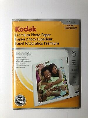 Kodak Premium Photo Paper Brand New 25 Sheets Sealed
