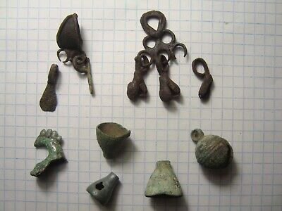 Ancient fragments  Vikings - Slavs Metal detector finds 100% original