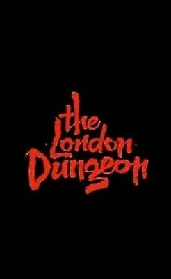 4 x London Dungeon eTickets For Sunday 21st JULY Entry Time 3pm  21/07/19