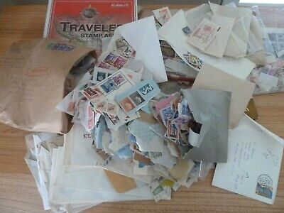 Worldwide Box Lot Indonesian Estate # 1 Thousands of Stamps Older Mix, Unchecked