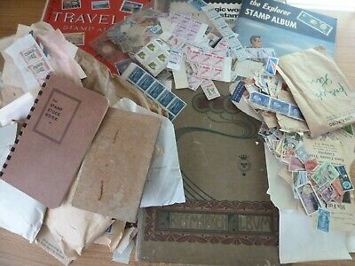 Worldwide Box Lot Indonesian Estate # 3 Thousands of Stamps Older Mix, Unchecked